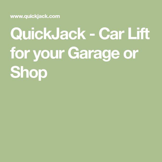 QuickJack - Car Lift for your Garage or Shop