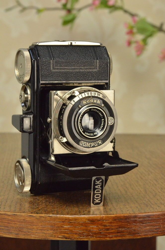 SUPERB! 1935 BLACK KODAK RETINA I, CLA'd #Kodak