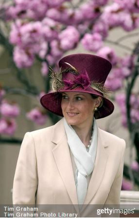 Countess Of Wessex, April 3, 2000 in Jess Collett | Royal Hats