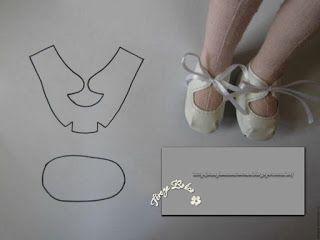 Boneca de Pano: Sapatos