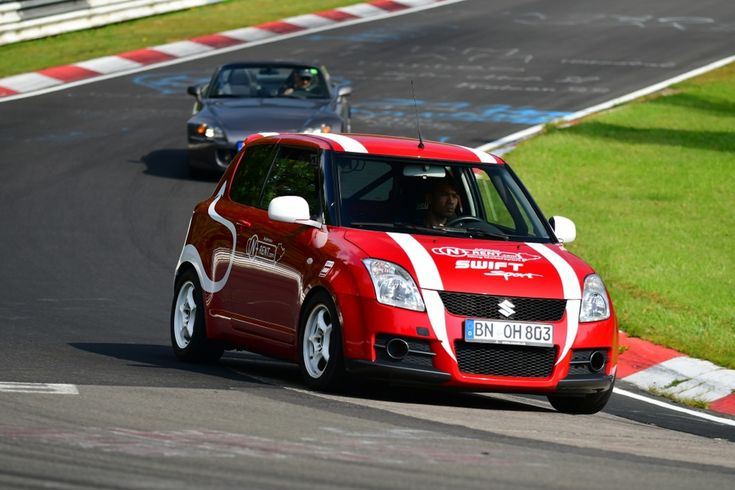 SUZUKI SWIFT SPORT STAGE 2 car rental Nürburgring