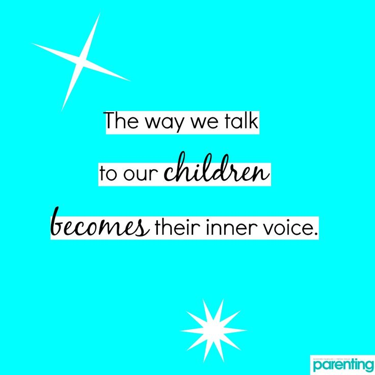 Parenting Quote: The way we talk to our children becomes their inner voice. Remember the 10 most powerful things you can say to your child.