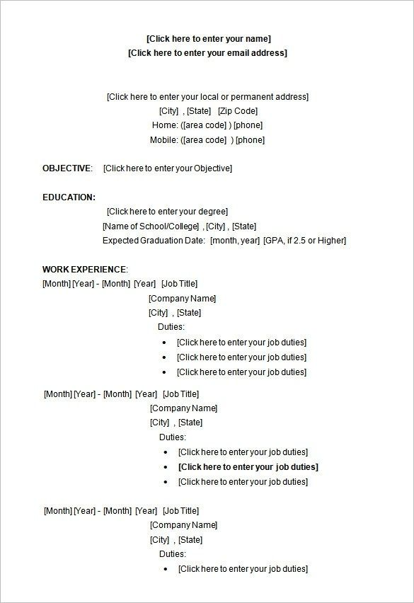 Inspiring Cv Template Microsoft Word 2007 Free Download Idea Di 2020