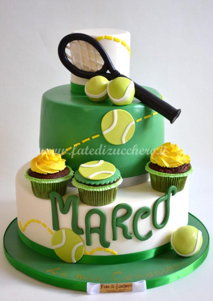 Torta Tennis per la Prima Comunione | | Fate di Zucchero - Cake Designers