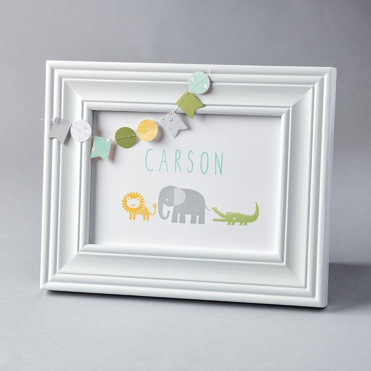 Zoo Babies Wood-Mount Stamp Set by Stampin' Up!