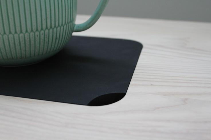 SWAP side table with trivet - By Pernille Rask  www.designkollektivet.dk