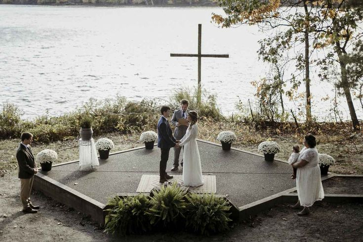 Woodland waterfront wedding - The Wedding Story of Erin and Taylor Moore  | WeddingDay Magazine