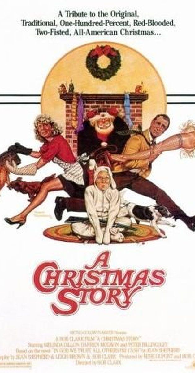 Directed by Bob Clark.  With Peter Billingsley, Melinda Dillon, Darren McGavin, Scott Schwartz. Ralphie has to convince his parents, his teacher, and Santa that a Red Ryder B.B. gun really is the perfect gift for the 1940s.
