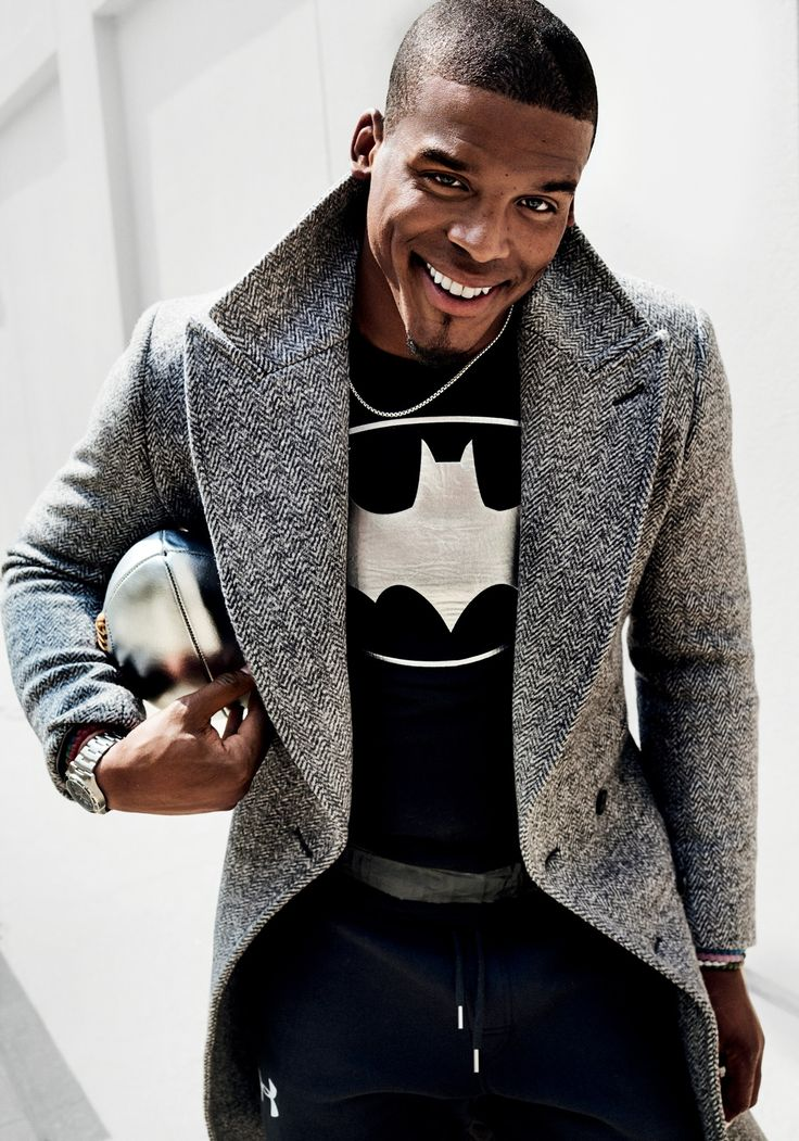 Cam Newton Steps Out in Fall's Biggest, Loudest, and Brightest Clothes Photos