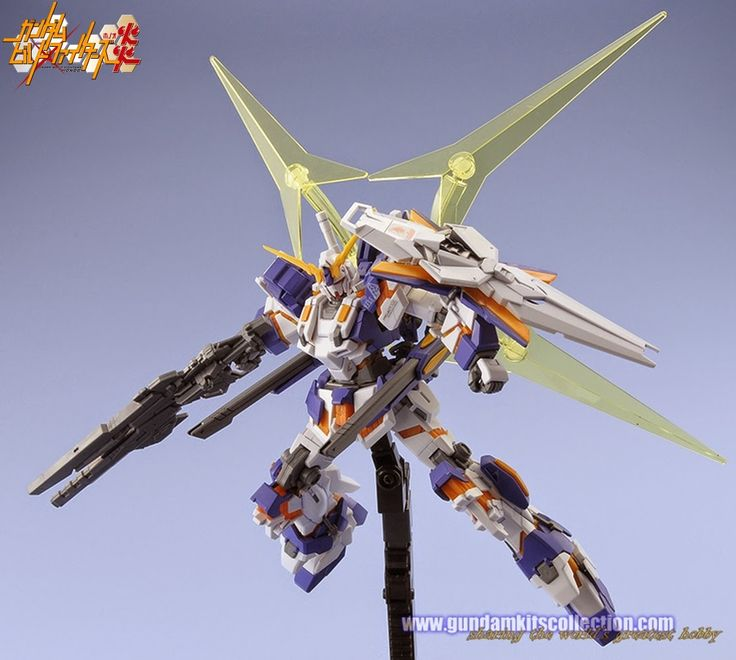 Gundam Build Fighters Honoo Customized Model Kits - Gundam Kits Collection News and Reviews