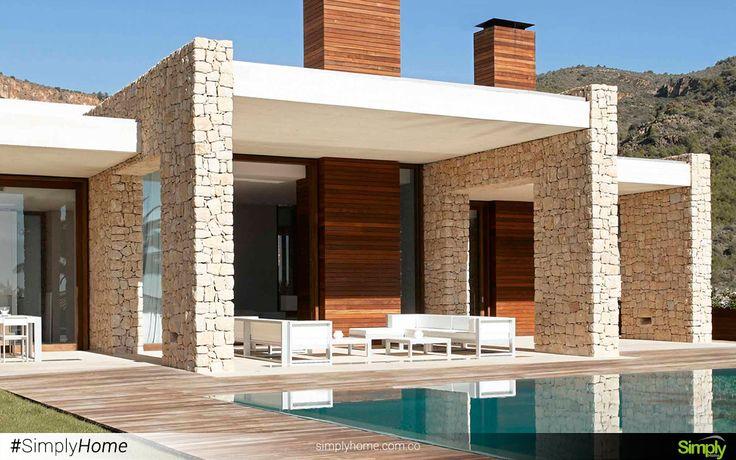 El interior puede justificar el exterior de tu hogar. #SimplyHome #SimplyHomeCol #Simply #Home #Decoracion