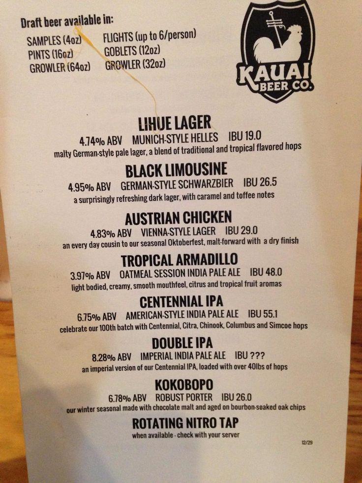 Kauai Beer Company, Lihue - Restaurant Reviews, Phone Number & Photos - TripAdvisor