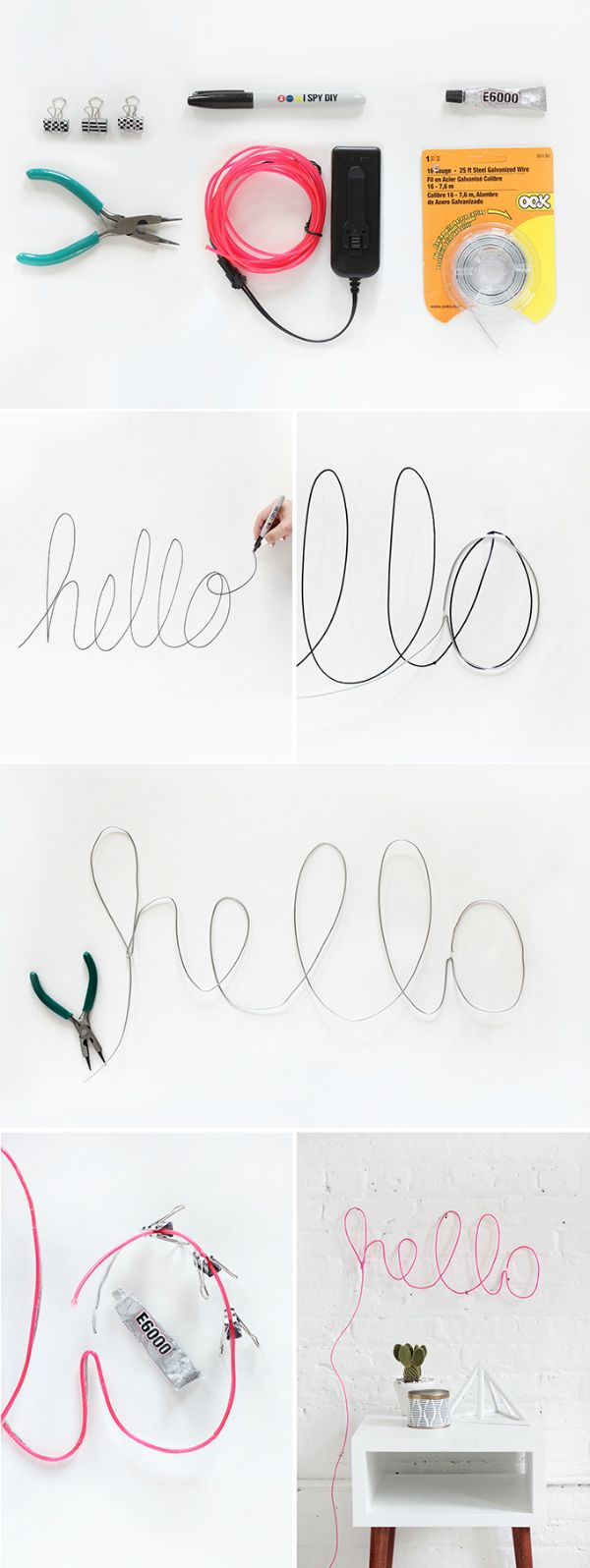 DIY neon signs                                                                                                                                                                                 More