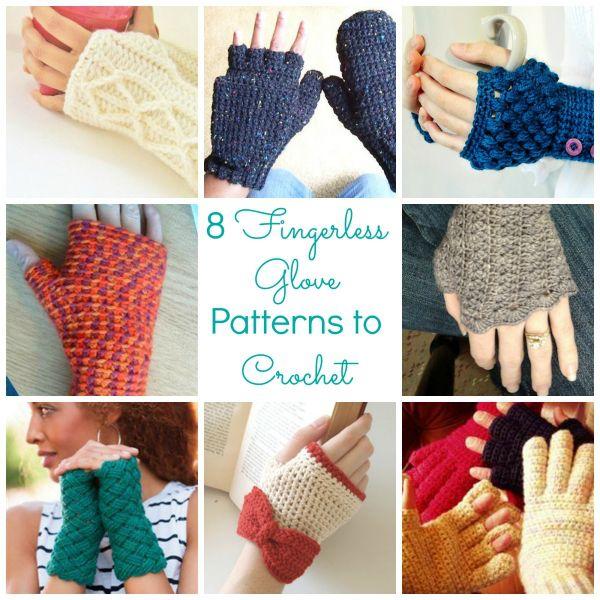 8 Fingerless Glove Patterns to Crochet