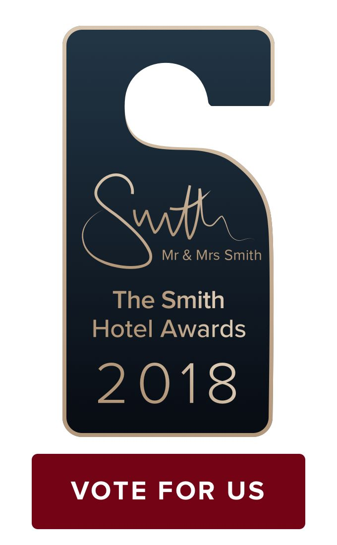 Zaborin is shortlisted in the Mr & Mrs Smith Hotel Awards 2018, in the Best Gourmet Getaway category. Vote now and get a chance to win $1,000 gift voucher with Mr & Mrs Smith! Voting ends 31st October 2017 GMT
