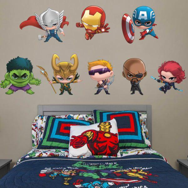 baby boys nursery ideas wall decal boys superhero room marvel rh pinterest com