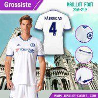 Nouveau maillot pas cher FC Chelsea (FABREGAS 4) Third 2016-2017   maillot-castle