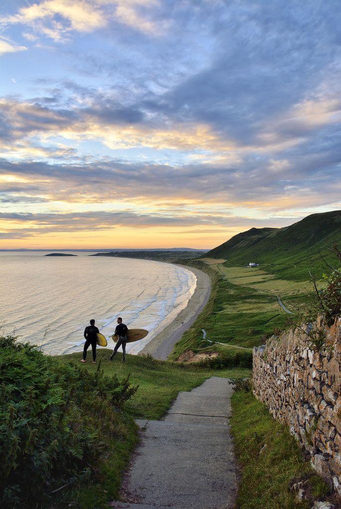 Rhossili beach, Swansea, Wales.   @natgeotravel   @natgeo #NatGeoWanderListContest