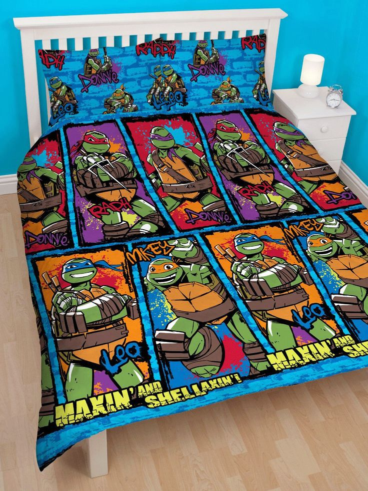 94 Best Images About Ninja Turtle Bedroom Ideas On Pinterest