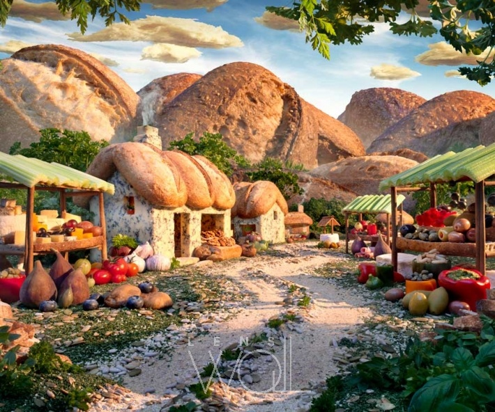 BREAD VILLAGE  BY CARL WARNER