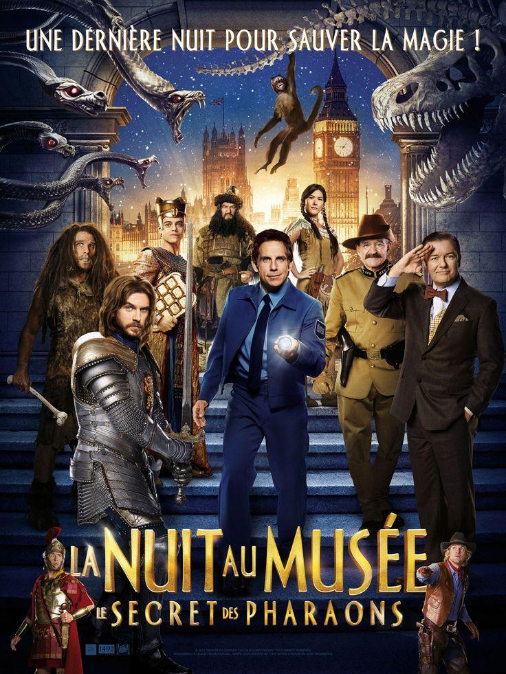 La Nuit au musée : Le Secret des Pharaons est un film de Shawn Levy avec Ben Stiller, Robin Williams. Synopsis : Ben Stiller réendosse le rôle de Larry, le gardien de musée le plus survolté, dans le dernier volet de la saga La Nuit au Musée. Il quitte New York po