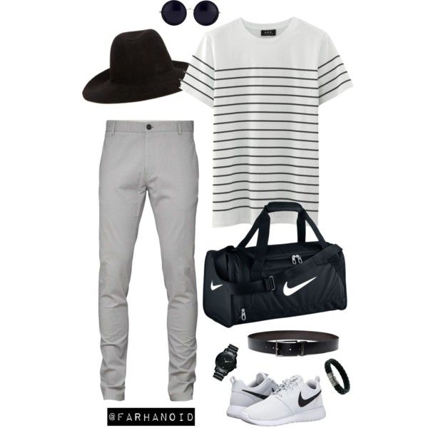 Undercover by farhanoid on Polyvore featuring NIKE, Movado, John Hardy, The Row, Undercover and DKNY