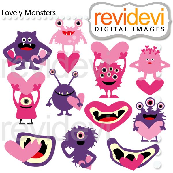 123 best creatures and monsters clipart images on