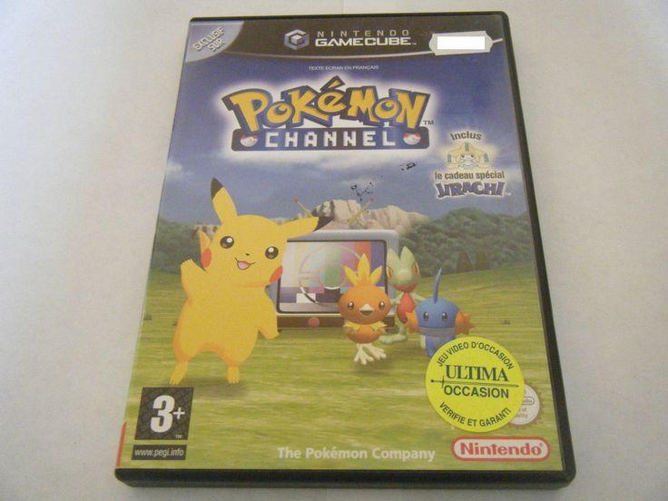 Pokemon Channel Nintendo Gamecube Sans Notice Occasion PAL FR | eBay