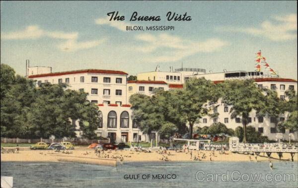 buena vista hotel one of the old grand hotels of biloxi. Black Bedroom Furniture Sets. Home Design Ideas