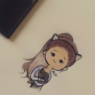 ariana grande drawings cartoon problem - Google Search