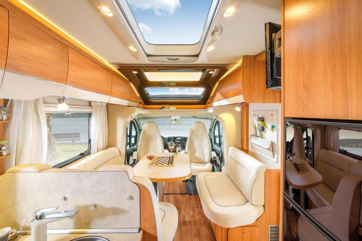 HYMER T-Class CL - light and airy - living room - motorhomes - semi-integrated