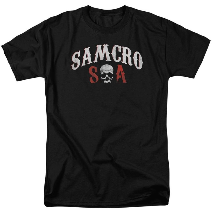 Sons Of Anarchy/Samcro Forever Short Sleeve Adult T-Shirt 18/1 in
