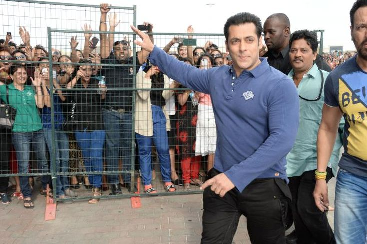 Salman Khan snapped at the music launch of Dr. Cabbie | PINKVILLA