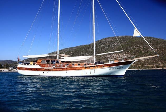 Gulf of Hisarönü, private gulet charter, www.barbarosyachting.com