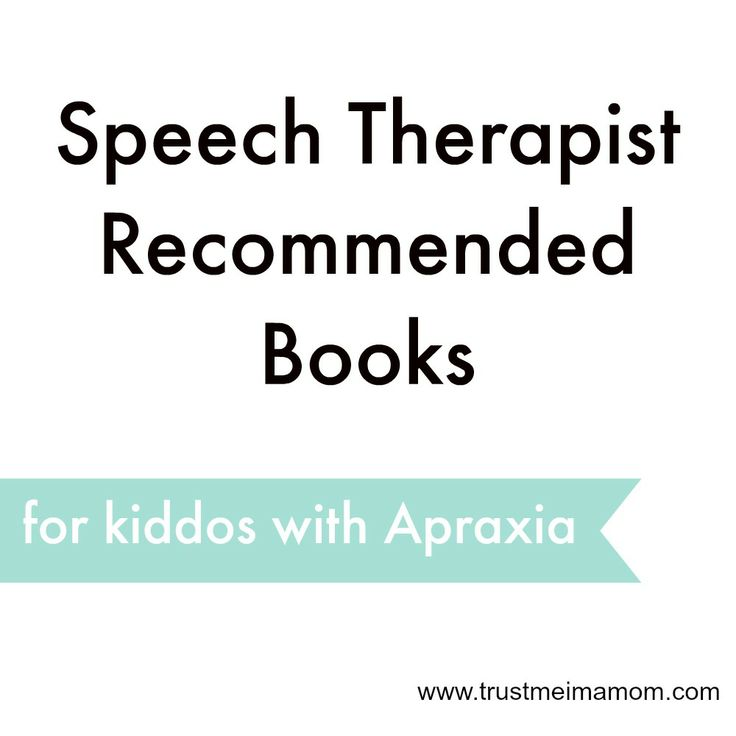 SLP Recommended Books for Kids with Apraxia