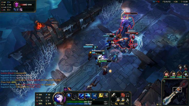 League of Legends - Aram 5v5  Ashe Gameplay
