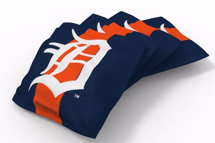 Detroit Tigers Stripe Bean Bags-4pk (A)