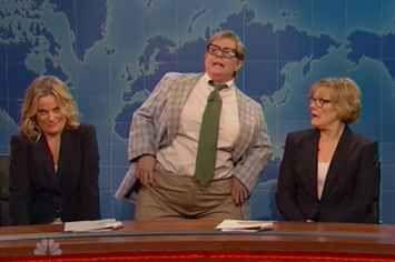 "Melissa McCarthy's Matt Foley Impression Won The ""SNL"" 40th Anniversary Special"