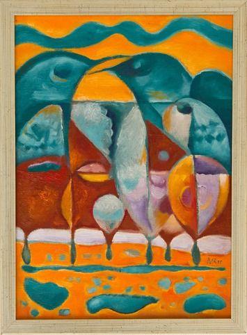 Miro Radev, olej na plátne, Po daždi (na vyžiadanie)
