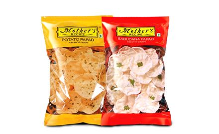 10% off on 75 gm pack of Aloo & Sago Papad. Valid at Metro stores in select cities.