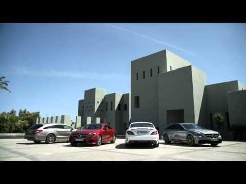 2015 Mercedes Benz CLS footage