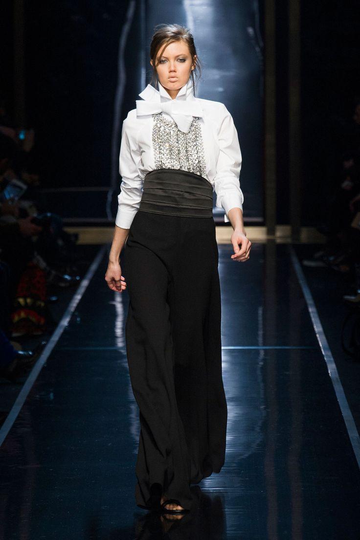 Ermanno Scervino at Milan Fashion Week Fall 2014 - StyleBistro