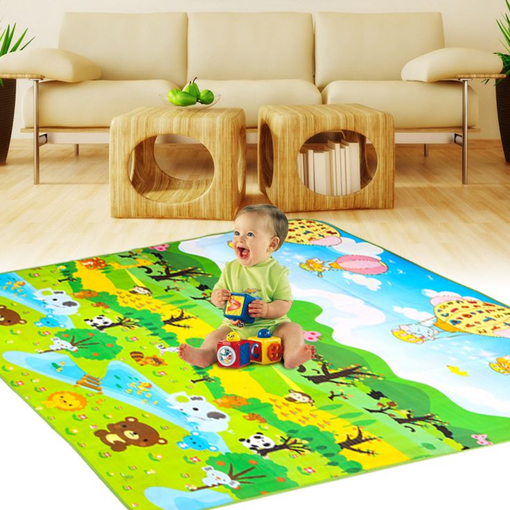 11.11 Double Side Baby Play Eva Foam Developing Mat for Children Carpet Kids Toys Game Rug Crawling Gym Playmat Christmas Gift  Price: 4.63 USD