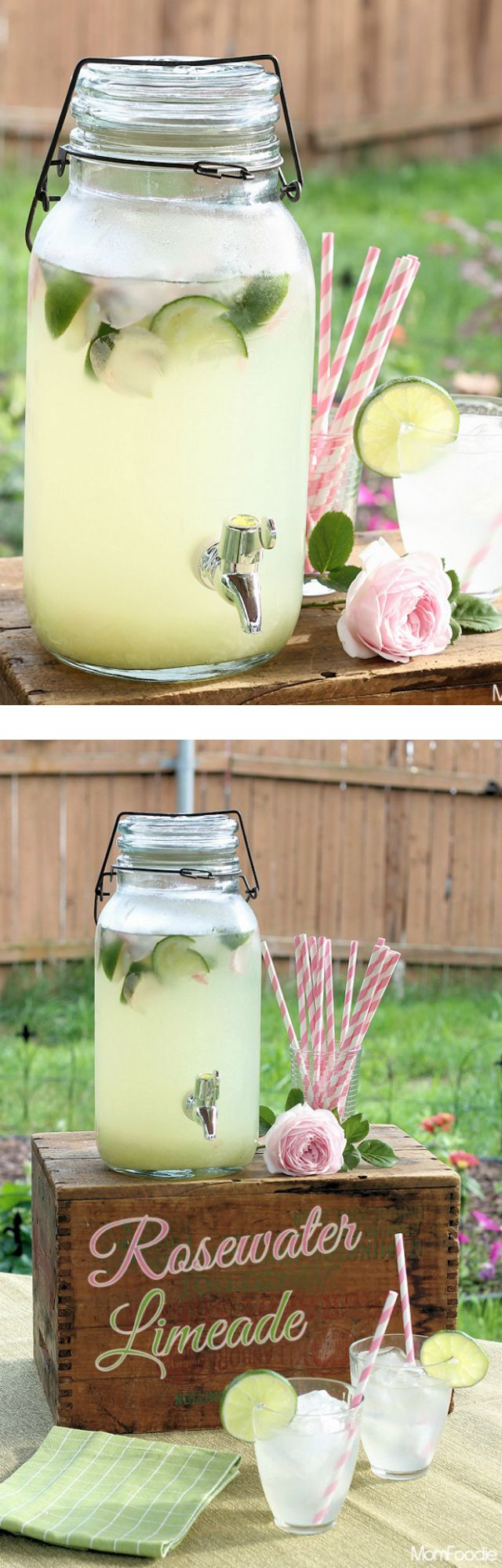 Rosewater Limeade is one of my favorite drinks to make in the summer. The rosewater elevates the simple inexpensive lime and sugar drink into something elegant. I make my Rosewater Limeade recipe a little heavier on the limes than many homemade limeade recipes. This enables the lime flavor to hold strong against rapidly melting ice …