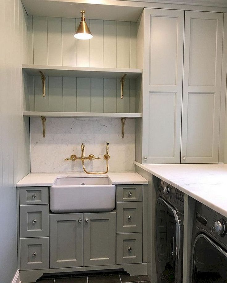 Bathroom Laundry Room Layout: Marvelous Laundry Room With Best Storage Ideas