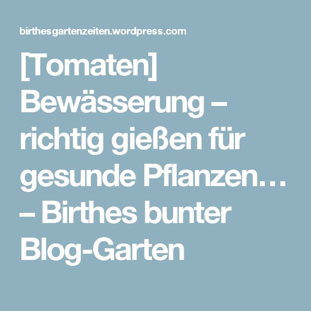 A 17 Legjobb ötlet A Következőről: Gartenbewässerung A Pinteresten ... Tipps Gartenbewasserung Gartengestaltung