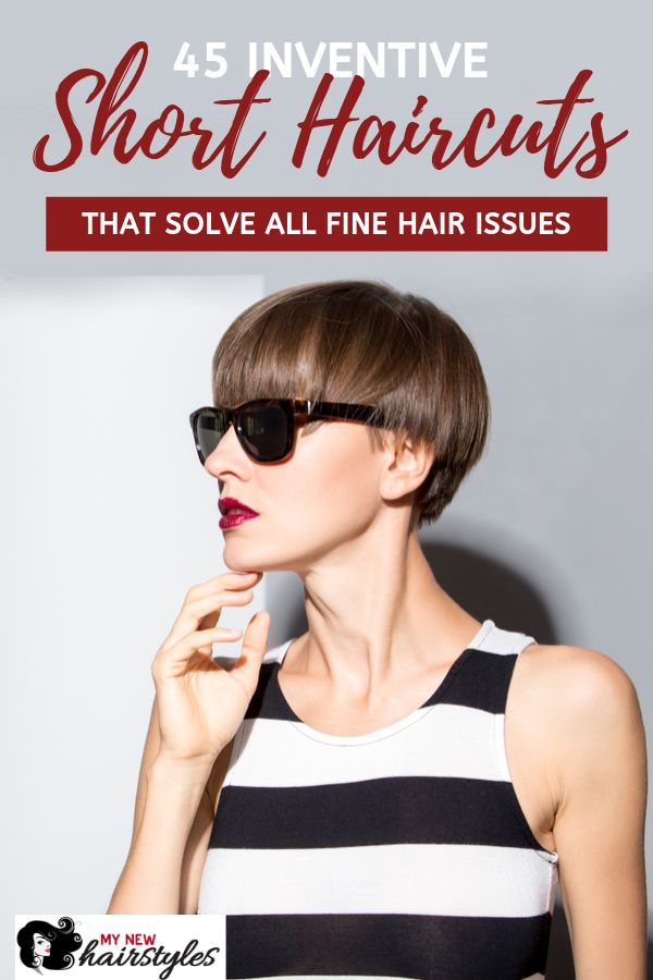 Fine hair can be difficult to deal with, especially if it is long. That is why many people with fine hair turn to short haircuts for a solution. If yo...