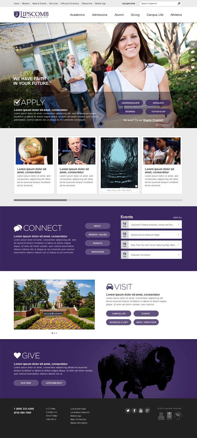 21 best School website ideas images on Pinterest | University ...