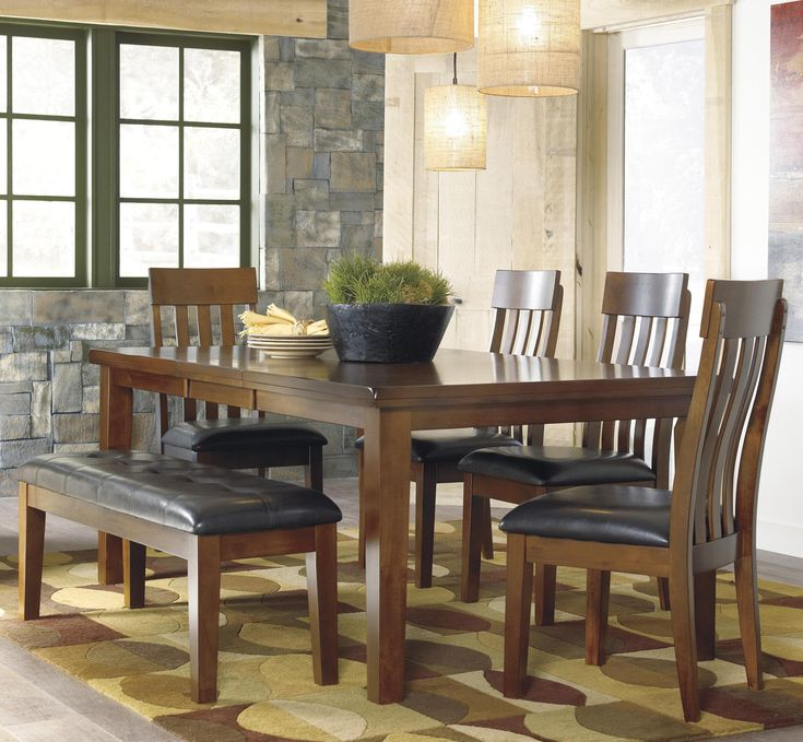 Best 25+ Dining Set With Bench Ideas On Pinterest | Wood Tables, Live Edge  Wood And Rustic Kids Seating