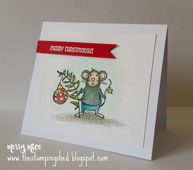 The Stamping Shed: Merry Mice